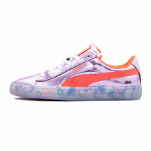 Puma Women's Basket Candy Princess Sneakers Metallic Pink/Fiery Coral 36... - $79.00