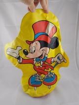 "Walt Disney's World on Ice Mickey Mouse Diamond Jubilee Punching Bag 17"" 1988 - $5.36"