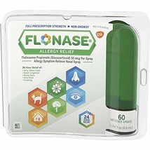 Flonase Allergy Relief Nasal Spray, 60 sprays - $11.43