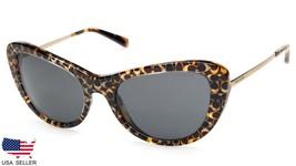 New Coach HC8247 L1039 551987 Spotty Tortoise Sig C Sunglasses 53-19-140 B43mm - $62.36