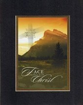 Face to Face with Christ. . . 8 x 10 Inches Biblical/Religious Verses set in Dou - $11.14