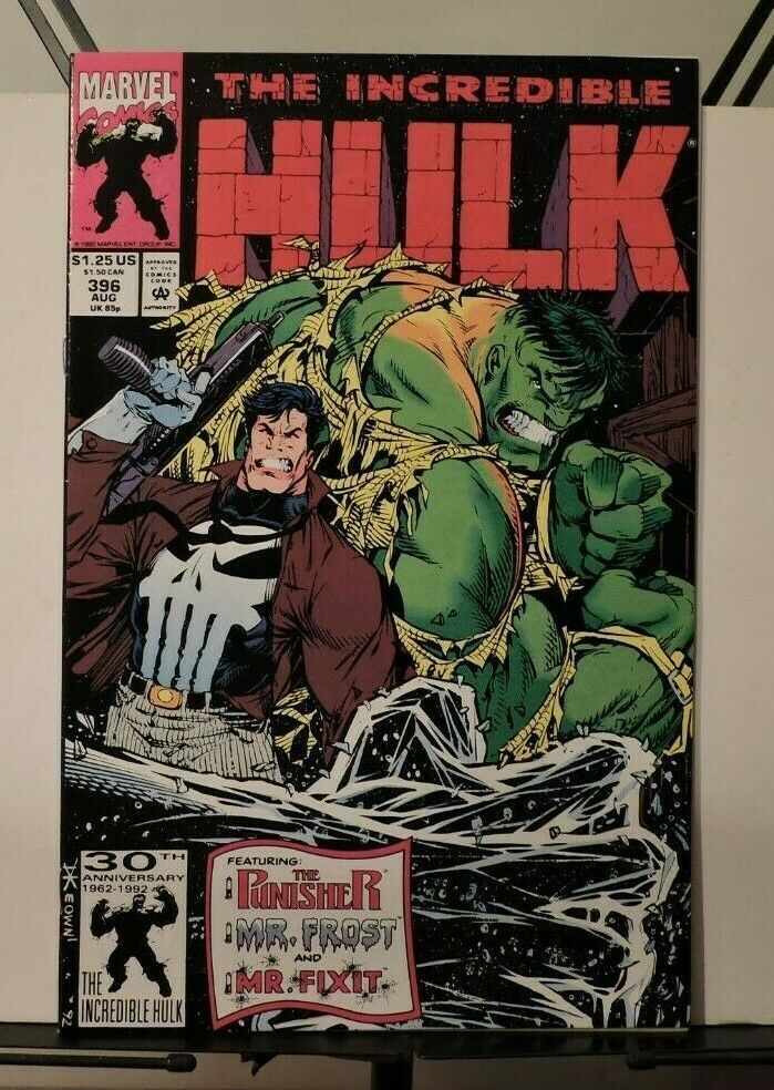 The Incredible Hulk #396 aug 1992