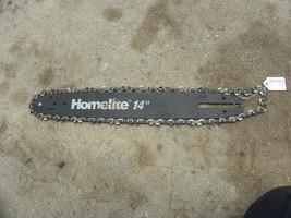 Homelite 14in Bar and Chain #311026003 (Bar) 901212004 (Chain) - $24.70
