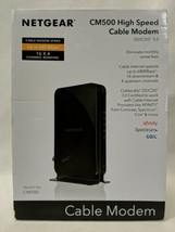 NEW Netgear High-Speed Cable Modem DOCSIS 3.0 680Mbps Download Speed Black - $54.99