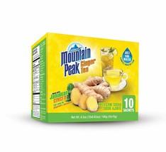 Jamaica Mountain Peak Ginger Instant Tea 10 Sachets - $8.90