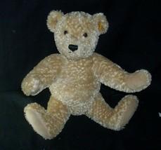 STEIFF 990748 SITTING HUMP BABY TEDDY BEAR STUFFED ANIMAL PLUSH TOY GOLD... - $51.43