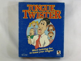 Tongue Twister 1980's Board Game Play Toy Industries Complete Excellent - $528,22 MXN