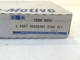 GM General Motors Electro Motive OEM Iron Bore Ring Set 40026487 Made in USA image 9