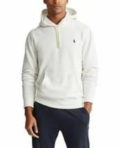 $130 Polo Ralph Lauren Men's White Fleece Pullover Hoodie Sweater Size L... - $79.20