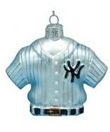 KURT ADLER MLB NEW YORK YANKEES JERSEY GLASS ORNAMENT NIB - $12.17