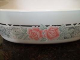 Silk and Roses Corning Ware  A-2-B Pan 2 quart - $29.91