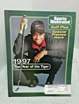 Sports Illustrated Tiger Woods Golf Plus The Year Of The Tiger 1997 Spec... - $9.89