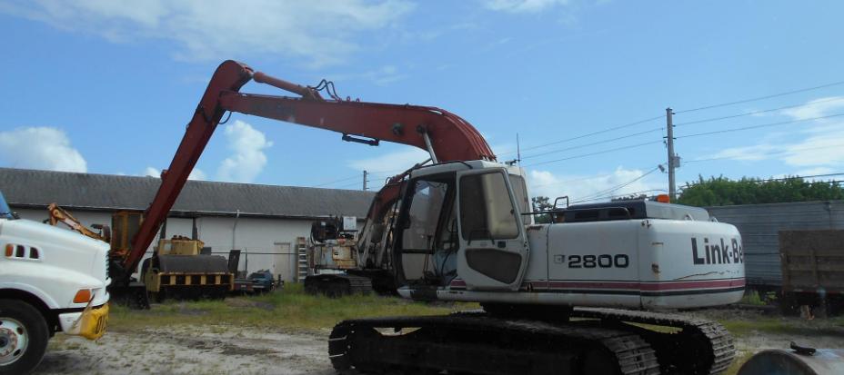 1997 LINK-BELT 2800Q LF For Sale In Merritt Island, Florida 32953