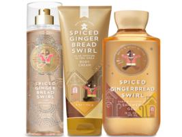 Bath & Body Works Spiced Gingerbread Swirl Trilogy Set  - $39.15
