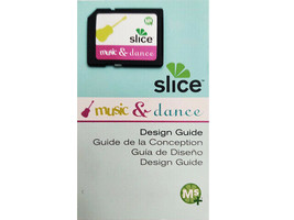 Slice Music & Dance Design Card and Design Guide, Scrapbooking, Cards & More
