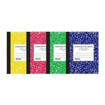 Wide-Ruled 100 Ct. Assorted Color Marble Composition Book, 1-ct. - $1.99