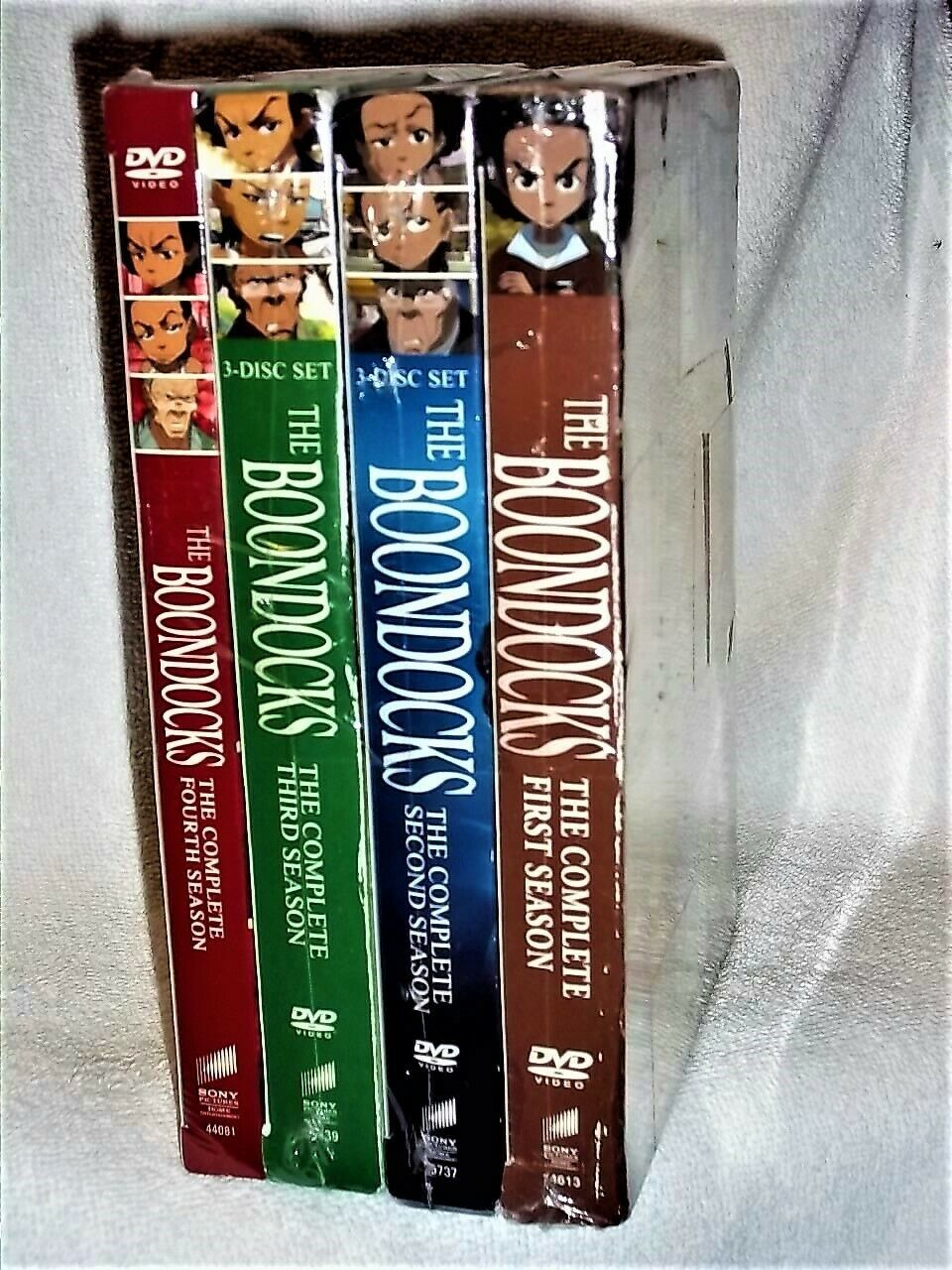 The Boondocks Uncensored Complete Series (DVD Sets) TV Show [New]