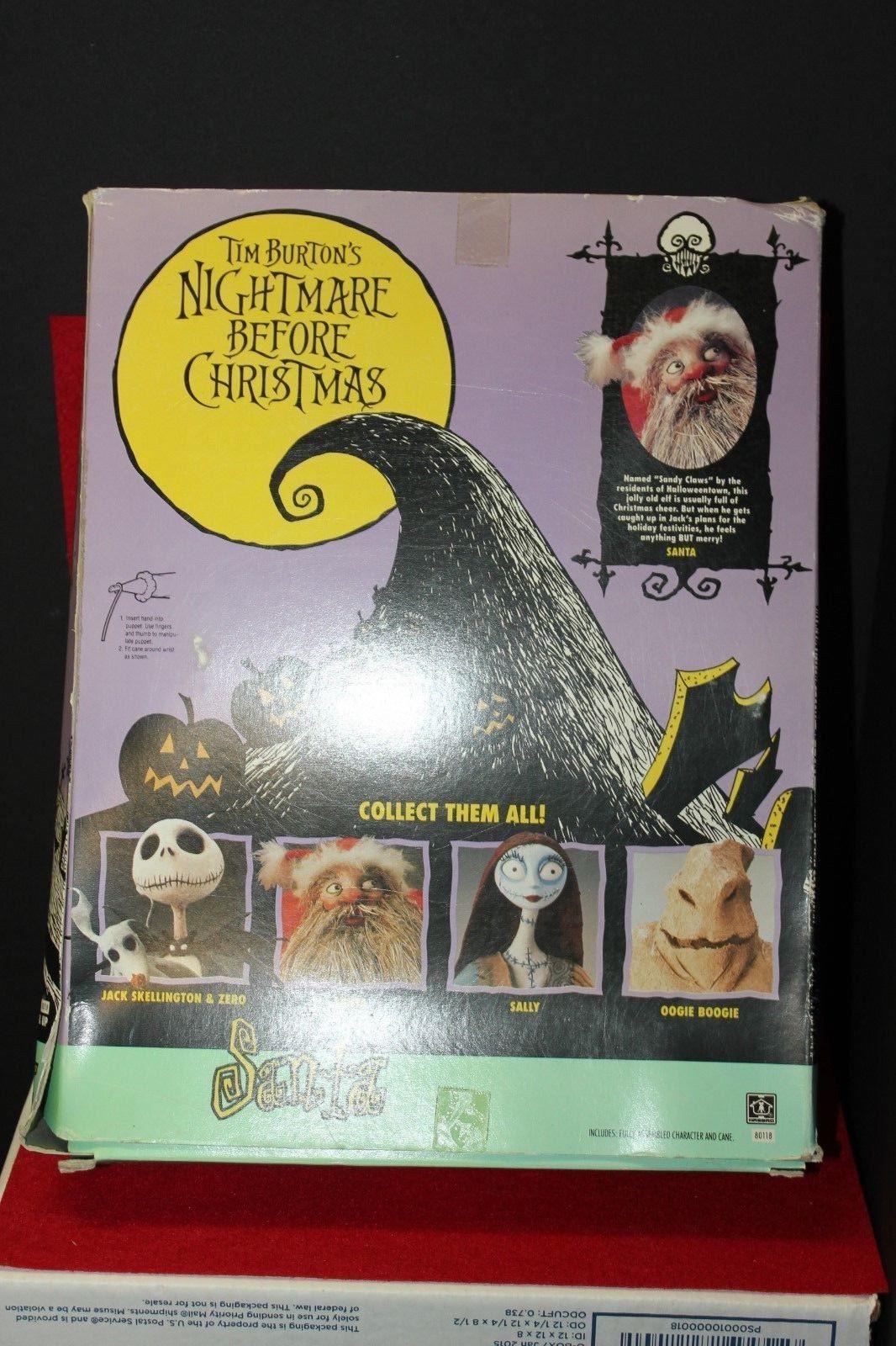 Nightmare Before Christmas Santa Posable and 50 similar items