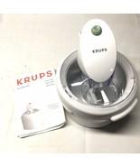 Krups La Glaciere Ice Cream Maker Model #358 Made in Italy - w/ Instruct... - $39.59