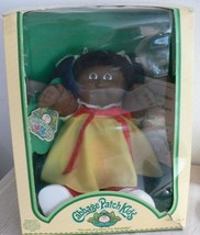 Vintage Coleco 1984 Cabbage Patch Kids KRISTI CLOVER African American w/ Box  - $1,286.99