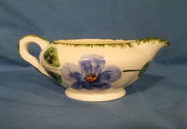 "RARE! Vintage Blue Ridge Pottery ""Norma"" Pattern Gravy/Sauce Boat (1940s) - $31.50"