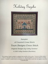Town Designs Cross Stitch Pattern Holiday Gazebo Cape May New Jersey Lan... - $13.25+