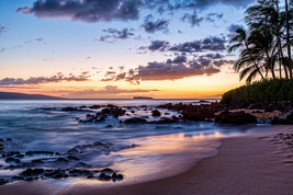 Secret Cove at Dusk, Maui, Fine Art Photography, Paper, Metal, Canvas Pr... - $40.00