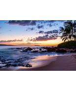 Secret Cove at Dusk, Maui, Fine Art Photography, Paper, Metal, Canvas Pr... - $40.00 - $442.00