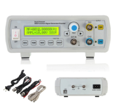 FY2202S 2MHz Dual Channel DDS Function Signal Generator Sine Square Wave... - $60.01