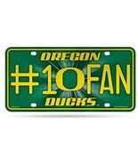 NCAA Oregon Ducks Bling #1 Fan Metal License Plate Tag - $4.99