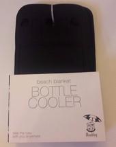 Beach Blanket Bottle Cooler Holds 6 Bottles Hook and Loop Insulated NEW NIP - $5.93