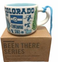 Starbucks Colorado Ornament Been There Mini Mug Rocky Mountains River - $37.39