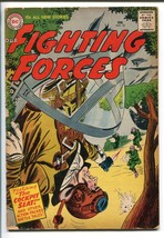OUR FIGHTING FORCES #18-1957-DC-SILVER AGE-WWII-HEATH- KUBERT-vg minus - $64.56