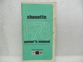 1978 Chevette Owners Manual 16076 - $17.77