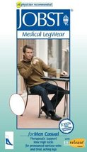Men's 20-30 mmHg Firm Casual Knee High Support Sock Size: X-Large, Color Khaki - $65.92