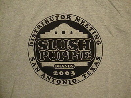 Slush Puppie Drink Brands 2003 Distributor Meeting San Antonio Texas T S... - $13.85