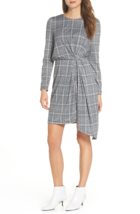 NWT MAGGY LONDON GRAY  PLEATED CAREER DRESS SIZE 14 - $28.21