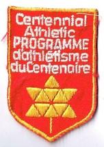 Vintage Sports Patch Centennial Athletic Programme - $2.84