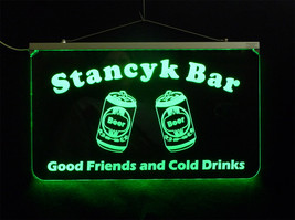 Custom Bar Sign, LED Sign, Pub Sign, Personalized Sign, Family Name Sign... - $142.00