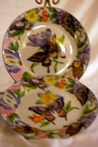 "American Atelier Butterfly Salad Plate 7 7/8"" - $17.09"