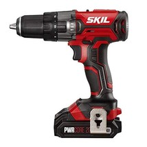 SKIL 20V 1/2 Inch Hammer Drill, Includes 2.0Ah PWRCore 20 Lithium Battery and Ch - $76.99