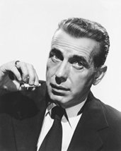 Humphrey Bogart In The Big Sleep B&W Print 16X20 Canvas Giclee - $69.99