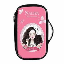 Fashion Waterproof Travel Makeup Case Cosmetic Bag Sundry/Toiletry, Lovely Girl image 1