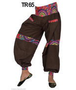 10 Cotton Designer Balloon Trousers Womens Gypsy Pants Lot India TR65 - $80.75