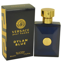 Versace Pour Homme Dylan Blue Cologne 1.7 Oz Eau De Toilette Spray  image 2