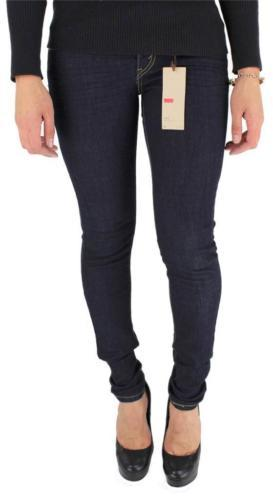 Levi's 535 Junior's Skinny Jean Leggings Dark Blue Denim 119970200