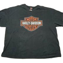 Vintage Y2K Harley Davidson Mens 3XL Gulf Coast T Shirt New Port Richey ... - £28.74 GBP