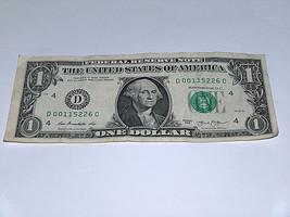 2013 $1 Dollar Bill US Bank Note Low Pairs 0 1 2 00115226 Fancy Money Se... - $13.78