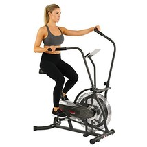 Sunny Health & Fitness Zephyr Air Bike, Fan Exercise Bike with Unlimited... - $245.17