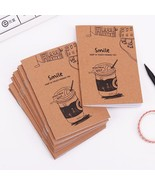 XUES® Retro Notebook Creative Mini Kraft Paper Blank Cup Notepad For Kids - $1.00